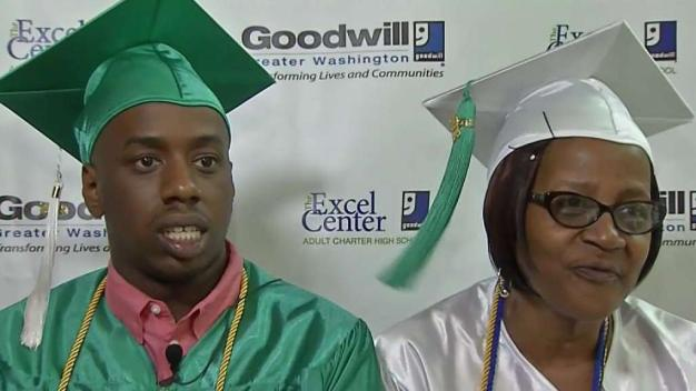 Grandmother, Grandson Earn High School Diplomas Together