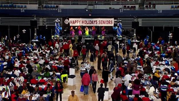 Thousands of Senior Citizens Gather for Holiday Celebration