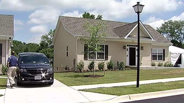 Homes for Wounded Veterans Dedicated to Fallen Soldiers