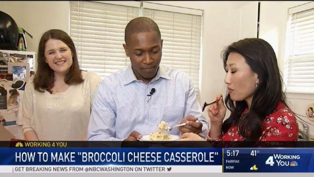 Cook With News4: Broccoli Cheese Casserole