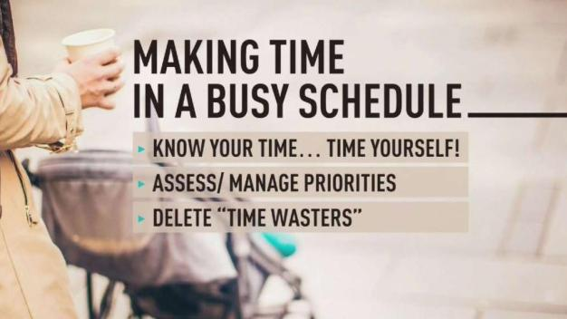 Not Enough Hours in the Day? How to Find More Time