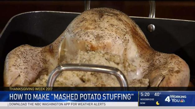 Cook With News4: Mashed Potato Stuffing