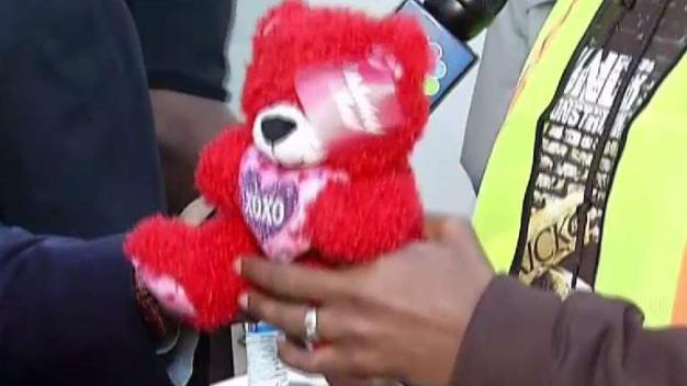 Men Collect Toys for Kids Affected by Domestic Violence