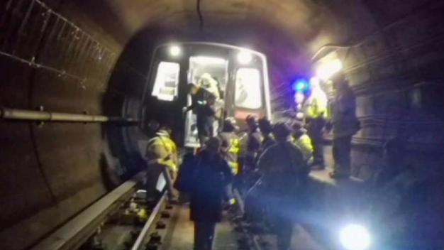 Red Line Derailment Is Latest Black Eye for Metro}