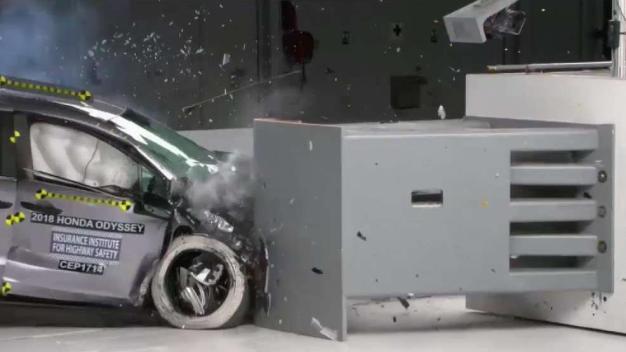 Minivan Crash Test Results