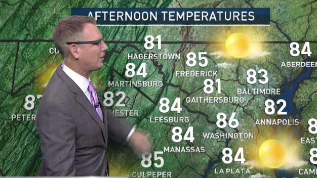 Morning Weather Sept. 22, 2017