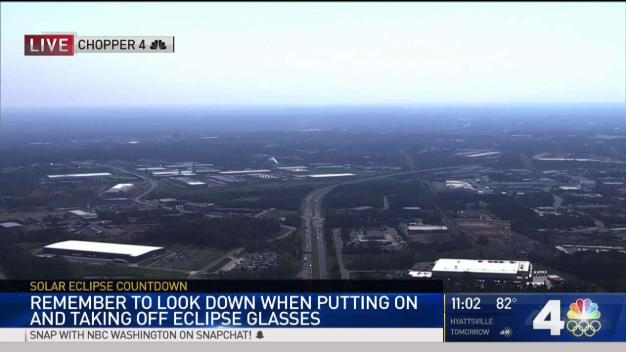 Prepping to Watch the Eclipse From Chopper4