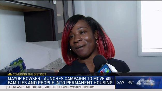 Previously Homeless Family Gets New Home in DC
