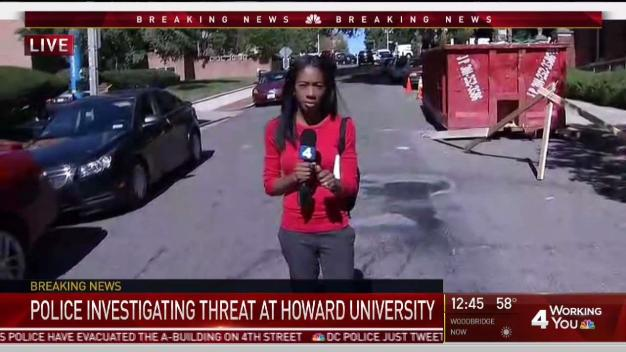 Active Shooter Reported at Howard University