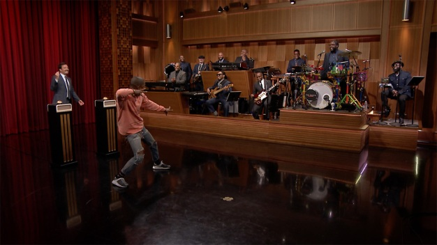 'Tonight': Pharrell Wiliams Plays 'Name That Song'