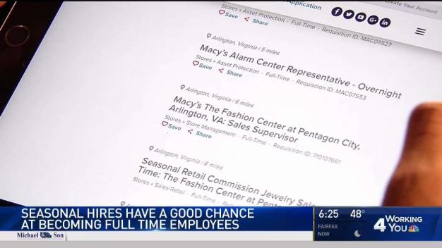 Seasonal Workers Have Good Chance of Becoming Full Time