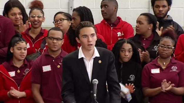 Parkland Students Attend #NeverAgain Rally in DC