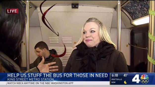 Help Stuff the Bus in Alexandria