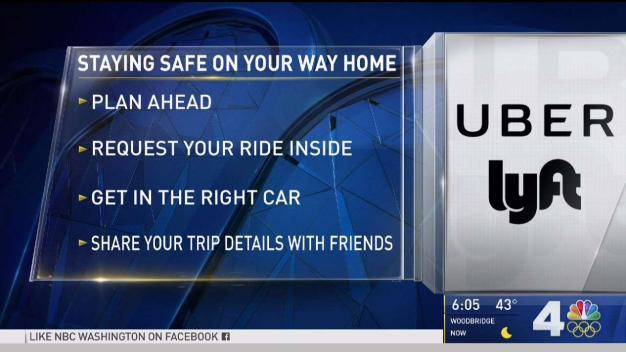 4 Tips for Staying Safe While Using Ride Share Apps