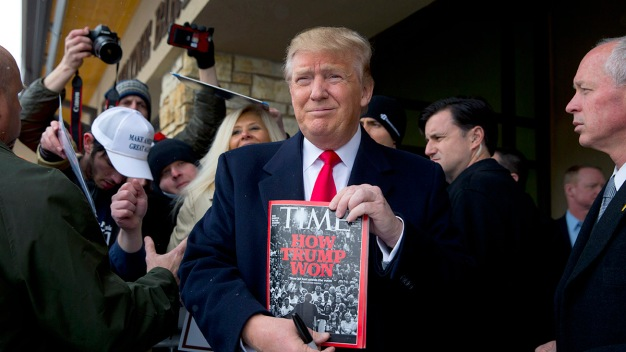 Trump and Time Magazine Dispute 'Person of the Year' Plans