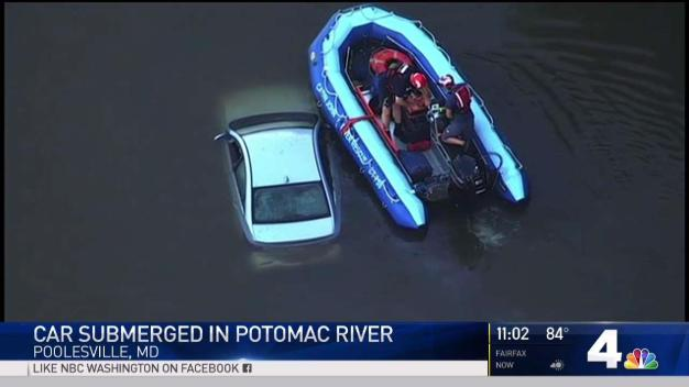 Vehicle Found Submerged in Potomac River in Md.