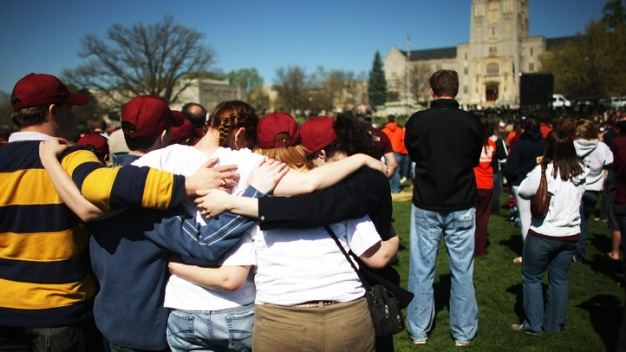 Ceremonies Mark 7th Anniversary of Va. Tech Massacre