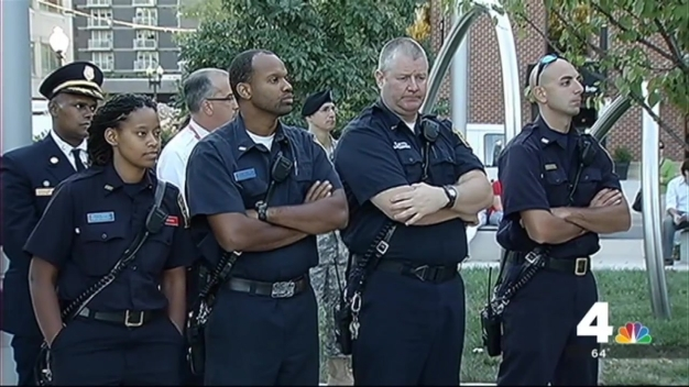 D.C. Community Gathers to Remember Navy Yard Victims