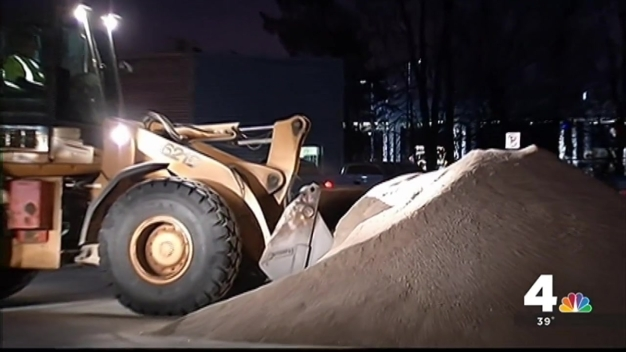 Montgomery County Crews Prepare for Snow