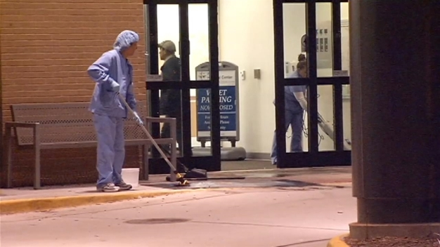 Injured Man Shoots Door at Reston Hospital Center
