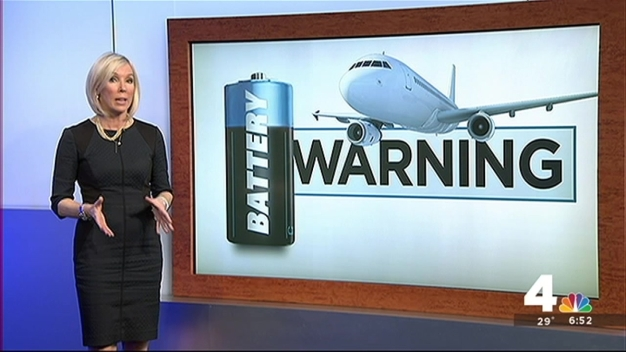FAA: Lithium Ion Batteries Pose Explosion Risk on Planes