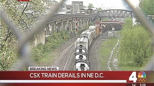 DC Fire Spokesman on CSX Train Derailment