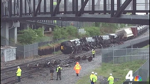 CSX Derailment to Affect Monday Morning Commute