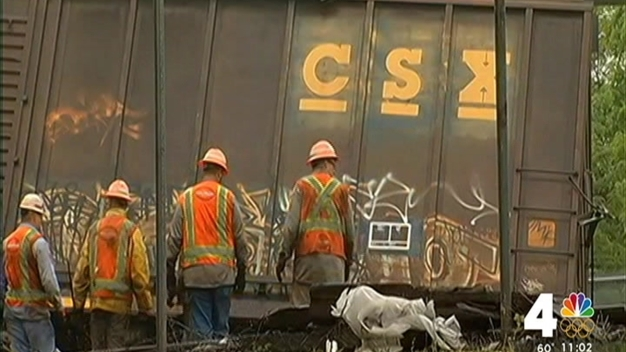 CSX: 16 Cars Involved in Derailment in DC, Not 15