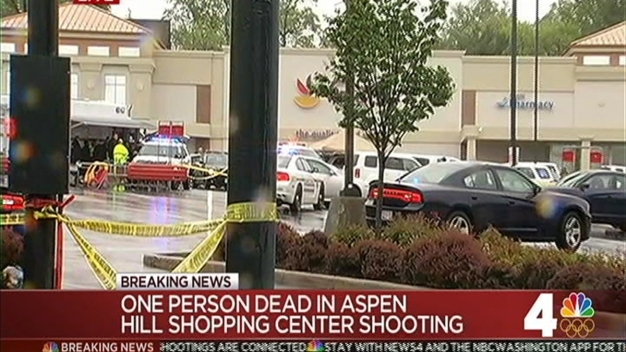 1 Person Dead in Aspen Hill Shopping Center Shooting