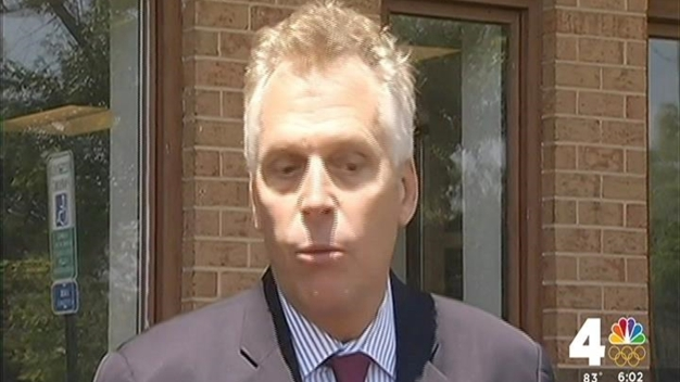 McAuliffe Reacts to Federal Probe of Campaign Contribution