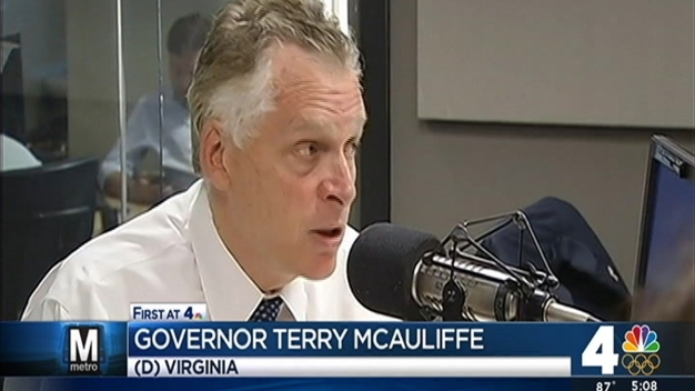 Va. Governor Terry McAuliffe Threatens to Withhold Funding From Metro