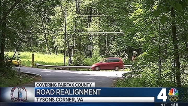 Work Ahead for Old Courthouse Road in Tysons Area