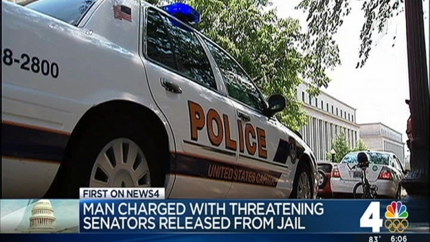 Va. Man Accused of Threatening Senators Barred From Tweeting