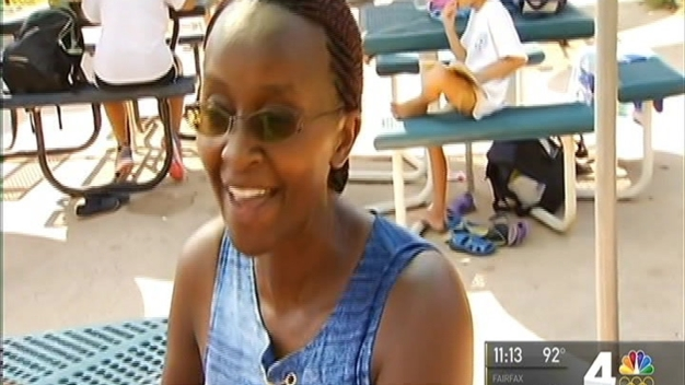 Residents, Visitors Work to Stay Cool as DC Sizzles