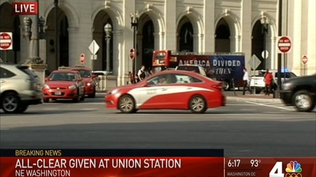 Union Station Given 'All-Clear' After Suspicious Package