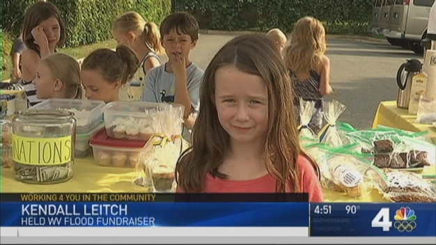 6-Year-Old Va. Girl Raises $1,000 in 1 Hour for W.Va. Flood Victims