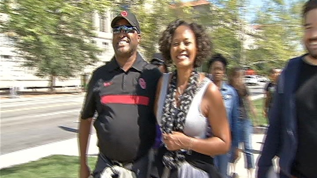 Families Tour African American History and Culture Museum