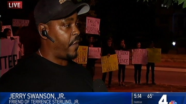 Family, Friends of Man Fatally Shot By Police Stage Protest