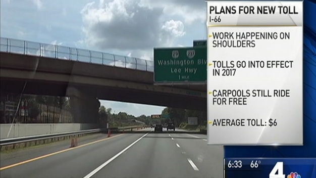 Work Moving Quickly to Add Tolls to I-66