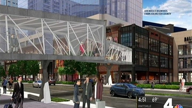 A First Look at Future Ballston Bridge Over Wilson Boulevard