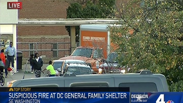 Families Displaced After Fire at DC General Shelter