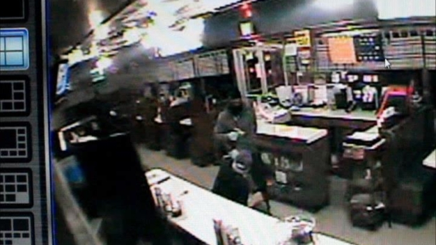 RAW VIDEO: Tastee Diner Manager Attacked
