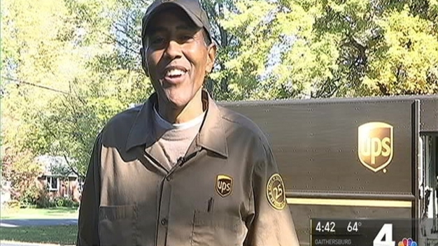 Vienna Community Honors UPS Driver On HIs Retirement