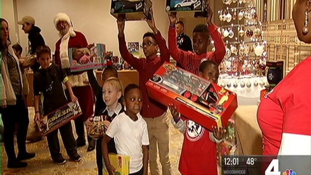 Children of Fallen Service Members Treated to 'Winter Wonderland'