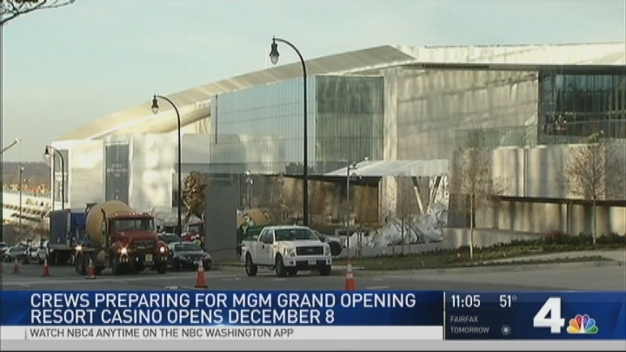 MGM National Harbor Opens Doors on Dec. 8