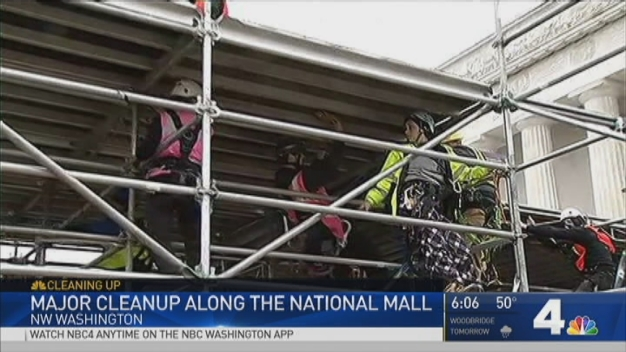 National Mall Cleanup Could Stretch Into March