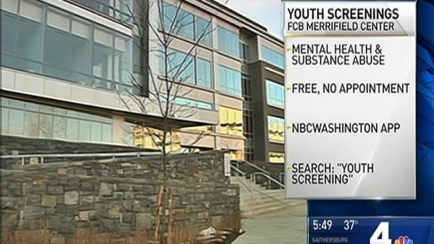 Fairfax County Youth Gain Access to Free Mental Health & Drug Screening