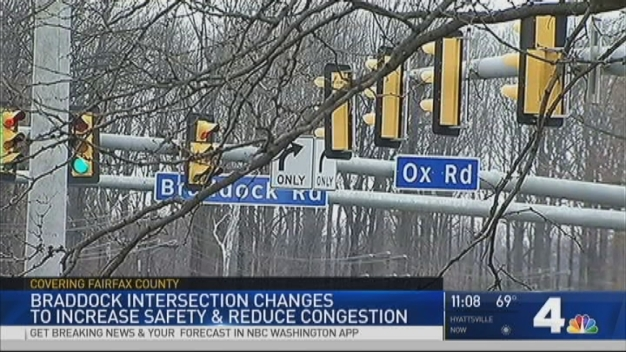 Intersection Changes Hope to Keep People Safe, Moving
