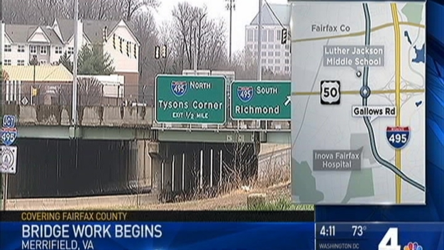 Major Fairfax County Interchange Faces a Year of Road Work