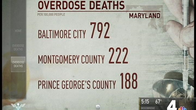Drug Overdoses Causing More Deaths